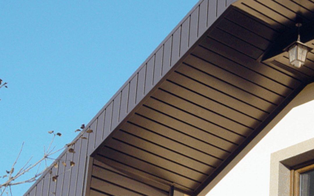 Монтаж підшивки даху