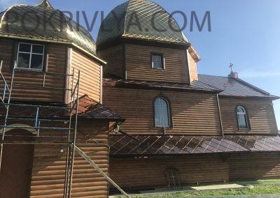 Реконструкція. Деревяної церкви. Помоняти.